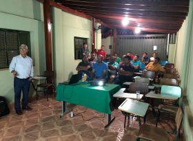 Pulverização Aérea de Ultra Baixo Volume foi tema de reunião da APPA em Riolândia